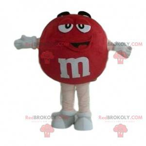 Veldig smilende rød M & M'S maskot - Redbrokoly.com