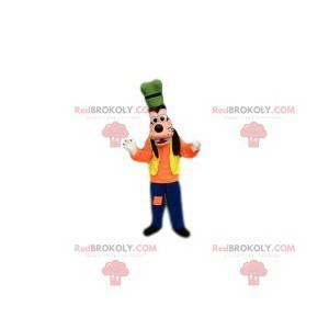 Goofy mascotte, een vriend van Mickey Mouse - Redbrokoly.com
