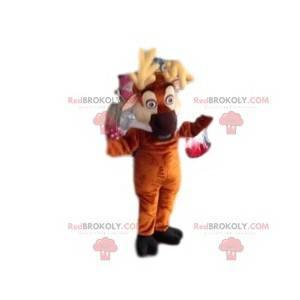 Caribou maskot. Caribou kostume - Redbrokoly.com
