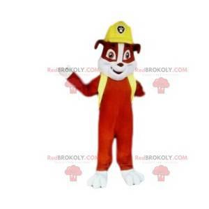 Maskotka czerwony pies, zespół Psi Patrol - Redbrokoly.com