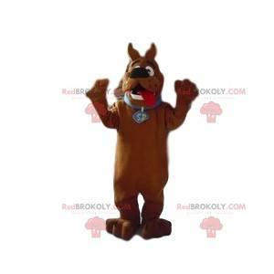 Scooby-Doo-Maskottchen. Scooby-Doo-Kostüm - Redbrokoly.com