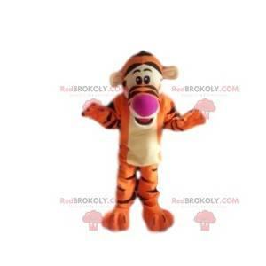 Mascote Tigger, o tigre favorito do Ursinho Pooh -