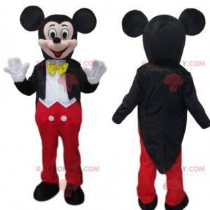 Mickey Mouse-mascotte, karakteristiek karakter van Walt Disney