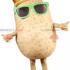 Mascotte di patate con occhiali da sole - Redbrokoly.com