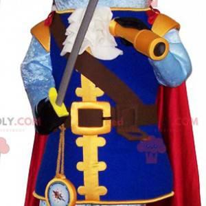 Haj maskot klædt ud som en pirat. Haj kostume - Redbrokoly.com