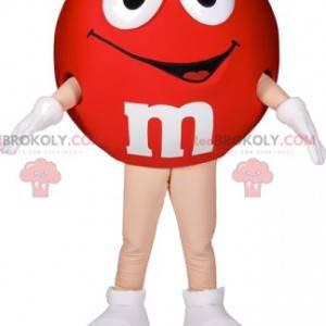 Maskot M & M'S červený. Červený kostým M&M - Redbrokoly.com