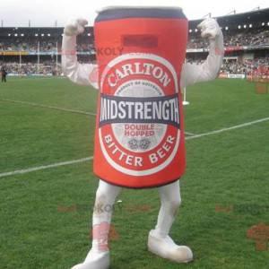 Gigantyczna czerwona puszka piwa maskotka - Redbrokoly.com