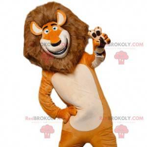 Mascot Alex, the famous lion of Madagascar - Redbrokoly.com