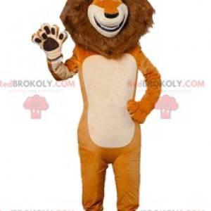 Maskot Alex, slavný lev Madagaskaru - Redbrokoly.com