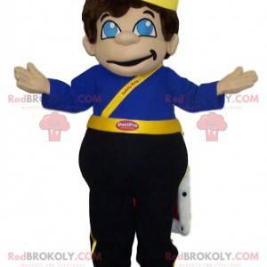 Malý chlapec maskot oblečený jako král. - Redbrokoly.com