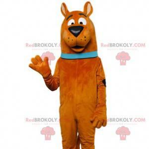 Mascot af den berømte Scooby-Doo. Scooby-Doo kostume -