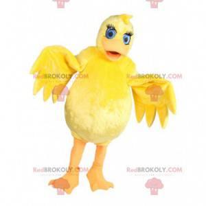 Mascota de caña amarilla. Disfraz de bastón - Redbrokoly.com