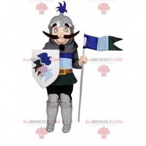 Mascote do cavaleiro. Fantasia de cavaleiro - Redbrokoly.com