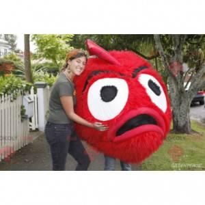 Maskotka gigantyczny wiśniowy włochaty potwór - Redbrokoly.com