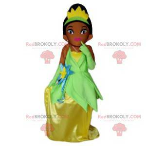 Princezna maskot se třpytivými šaty - Redbrokoly.com
