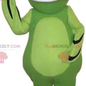 Mascotte della rana verde. Costume da rana verde -