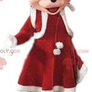 """Mascot Minnie, Mickey's liefje """"Christmas edition"""" -"""