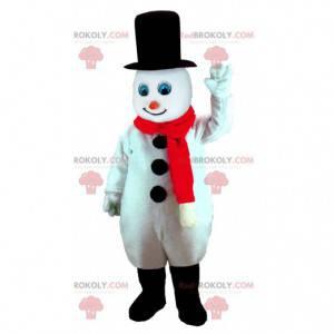 Mascotte pupazzo di neve a grandezza naturale - Redbrokoly.com