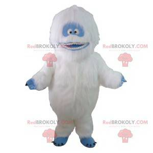 Mascot white and blue yeti. Yeti costume - Redbrokoly.com