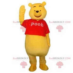 Mascote do Ursinho Pooh. Fantasia de Ursinho Pooh -