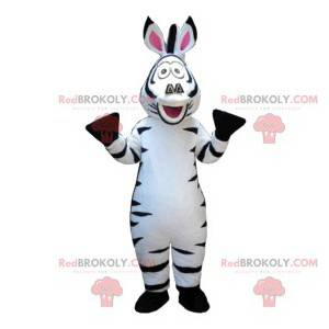 Super sjov zebra maskot. Zebra kostume - Redbrokoly.com
