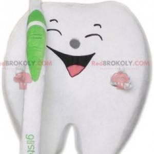 Maskot bílý zub. Kostým bílého zubu - Redbrokoly.com