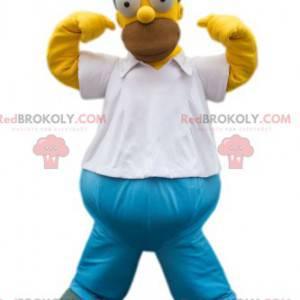 Homer Simpson-mascotte, de vader van de Simpson-familie -