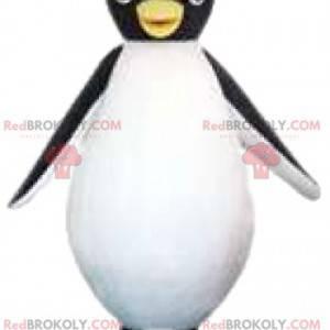 Mascota pingüino demasiado linda. Disfraz de pingüino -