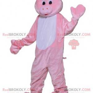 Mascote de porco. Fantasia de porco - Redbrokoly.com