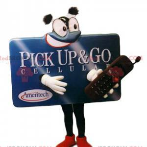 Cell phone billboard mascot. - Redbrokoly.com
