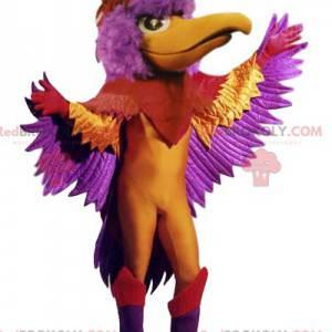 Multicolored phoenix mascot. Phoenix costume - Redbrokoly.com