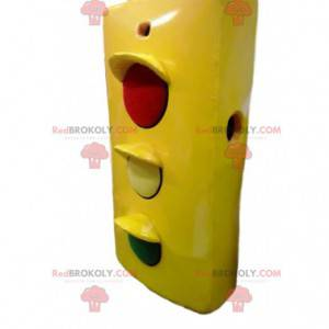 Semafor maskot. Kostým semaforu - Redbrokoly.com
