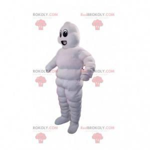 Nafukovací maskot bílý sněhulák - Redbrokoly.com