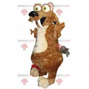 Maskot Scrat, veverka v době ledové - Redbrokoly.com