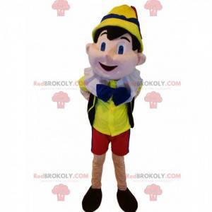 Maskot Pinocchio. Pinocchio kostým - Redbrokoly.com