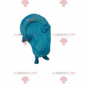 Blaues Planschbecken-Maskottchen. Planschbecken Kostüm -
