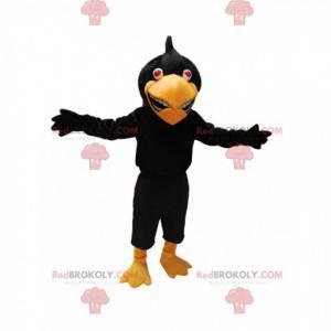 Černý orel maskot. Kostým černého orla - Redbrokoly.com