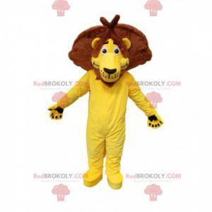 Originální maskot žlutého lva. Lev kostým - Redbrokoly.com