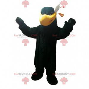 Black eagle mascot. Black eagle costume - Redbrokoly.com