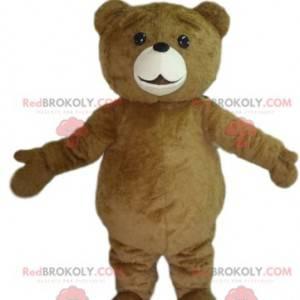 Brun bjørn maskot. Brunbjørn kostyme - Redbrokoly.com