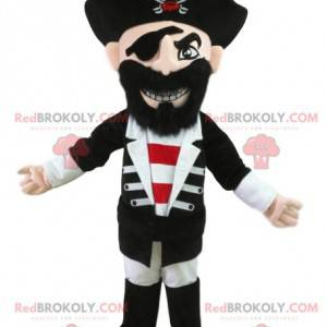 Piratmaskot i traditionel kjole. Pirat kostume - Redbrokoly.com