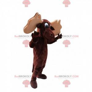Mascote Caribou. Fantasia de caribu - Redbrokoly.com