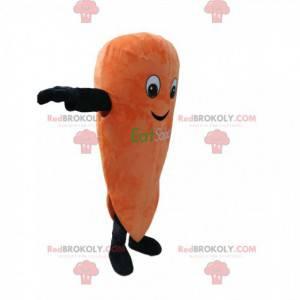 Super sød gulerod maskot. Gulerodskostume - Redbrokoly.com
