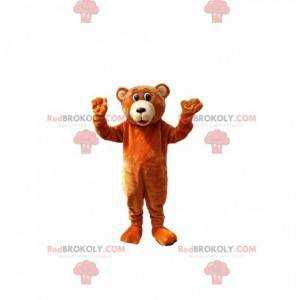 Brown bear mascot. Brown bear costume - Redbrokoly.com