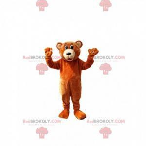 Maskotka niedźwiedź brunatny. Kostium niedźwiedzia brunatnego -
