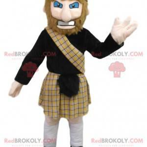 Mascot man in traditional Scottish costume. - Redbrokoly.com