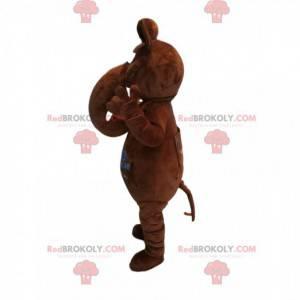 Oryginalna maskotka mamuta brązowego. Kostium Mamuta -