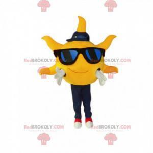 Sluneční maskot, sluneční brýle a čepice - Redbrokoly.com