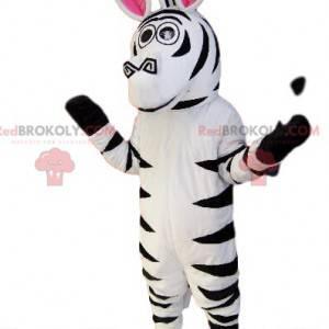 Mascote zebra super cômico. Fantasia de zebra - Redbrokoly.com