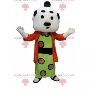 Mascot man in traditional Japanese costume - Redbrokoly.com